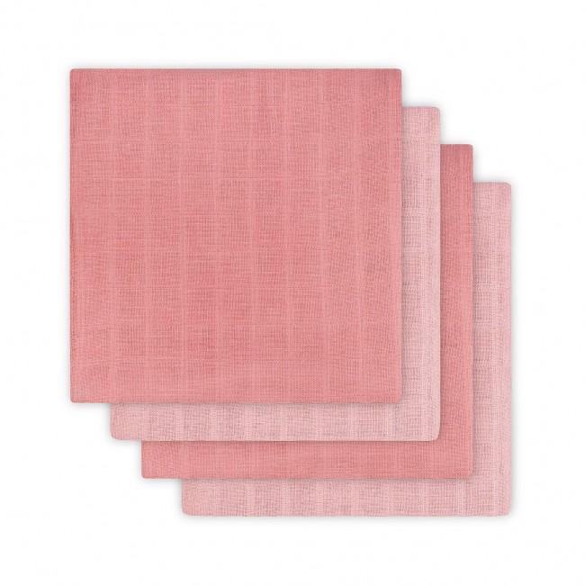 Komplet 4 tetra pleničk Hydrophillic, Duo pink