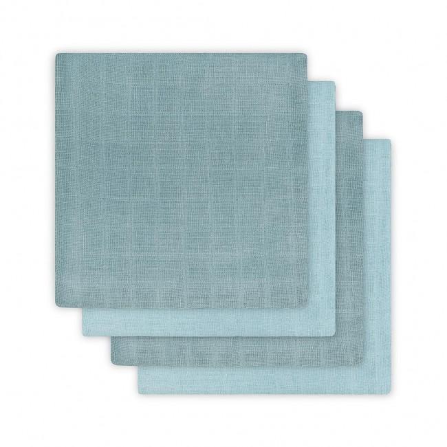 Komplet 4 tetra pleničk Hydrophillic, Stone blue