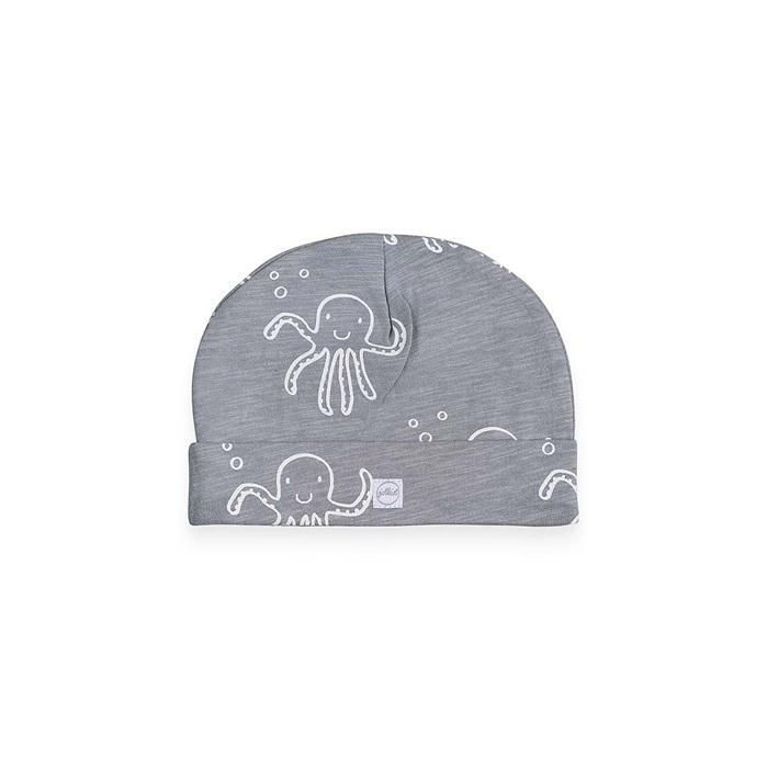 Kapica 6-12m, Mini hobotnice/siva