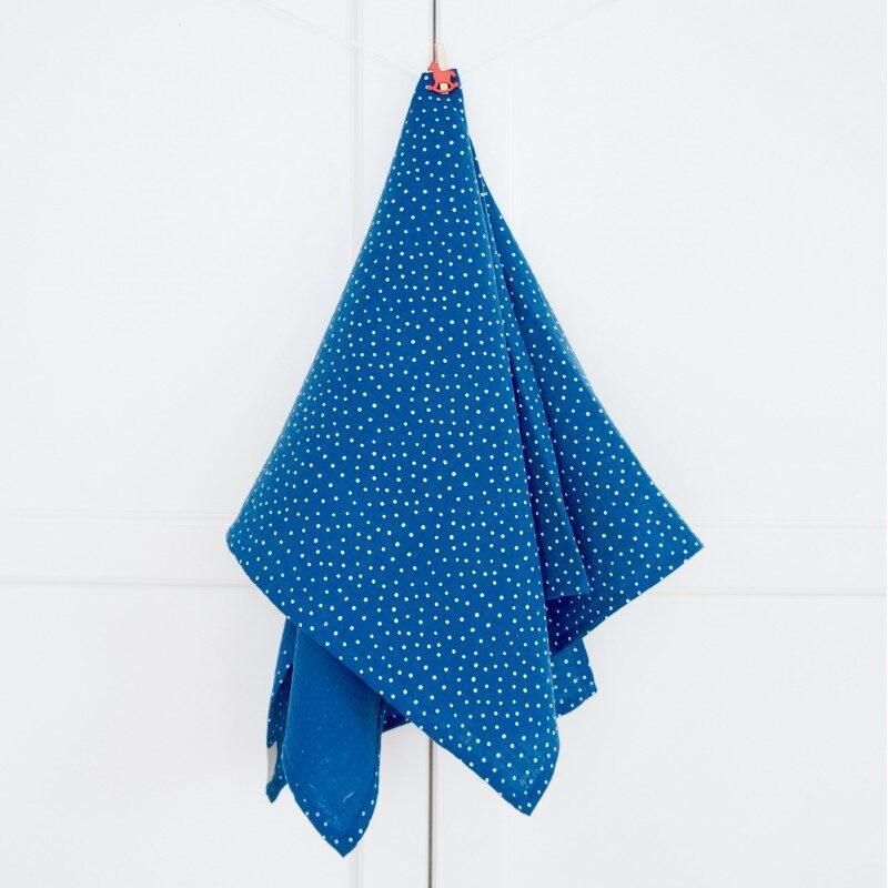 Muslinova odejica, Modre pikice