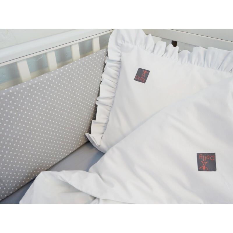 2-delna posteljnina, Bela